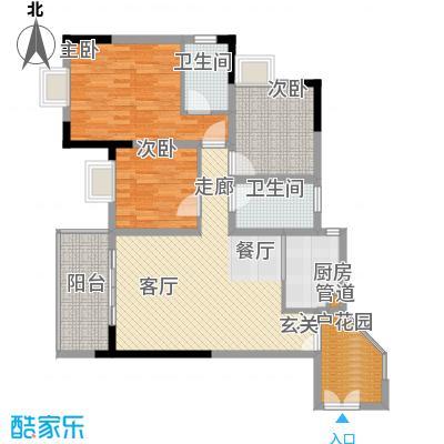 二郎欣茂苑89.35㎡6号楼面积8935m户型