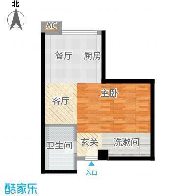 珠江彩世界37.70㎡D-1书香茗轩面积3770m户型