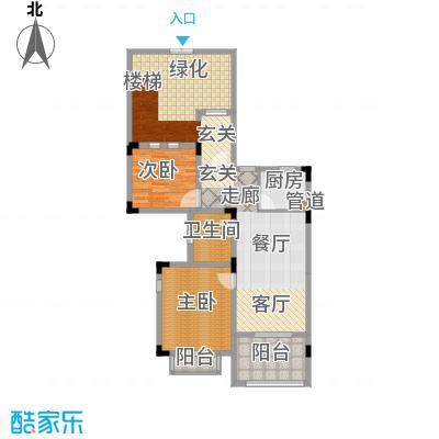 芳草地雪岭仙山三期法米亚75.04㎡面积7504m户型