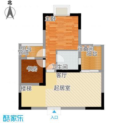 金地广场93.68㎡D(上)面积9368m户型