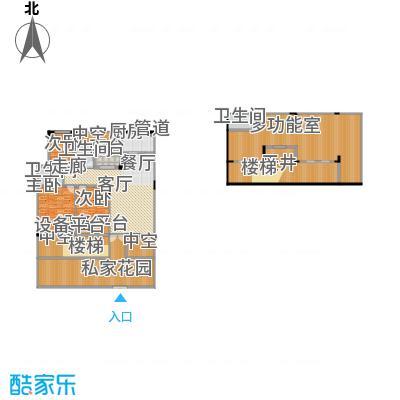 聚义香城故事180.87㎡一期标准层面积18087m户型