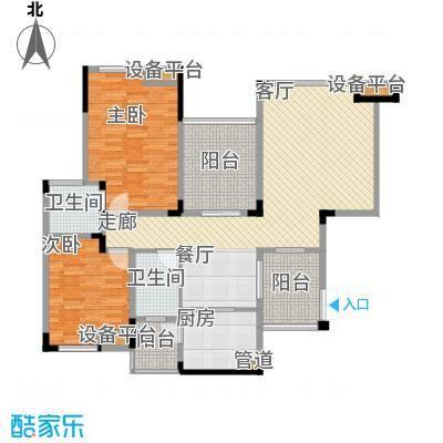 聚义香城故事100.05㎡一期标准层面积10005m户型