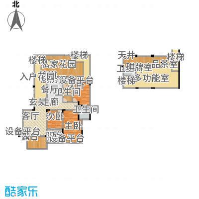聚义香城故事162.15㎡一期标准层面积16215m户型