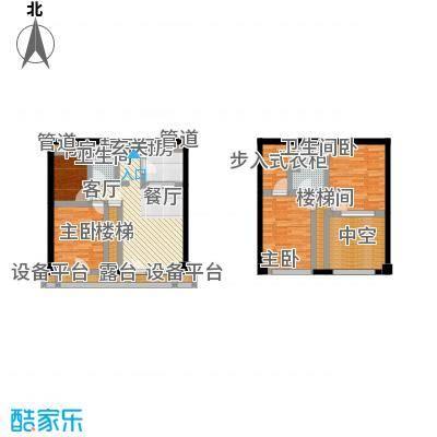 富力十号92.00㎡富力水街坊公寓标准层b户型