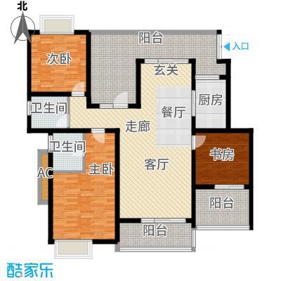 龙湖悠山香庭118.00㎡c5-1面积11800m户型