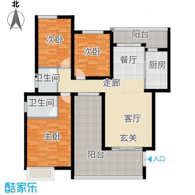 龙湖悠山香庭102.00㎡c2-4面积10200m户型