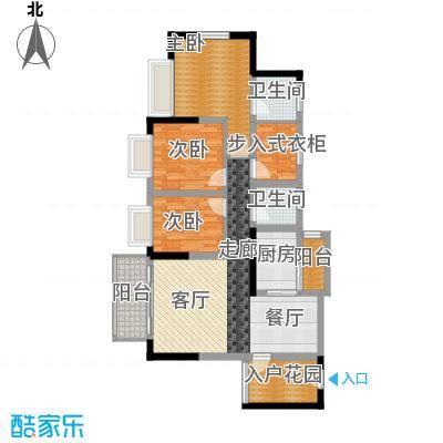 香逸半山93.21㎡9号楼A面积9321m户型