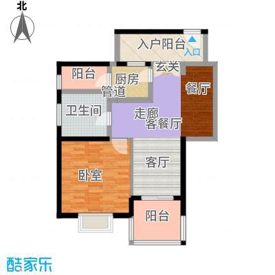 弘扬华城国际46.00㎡面积4600m户型
