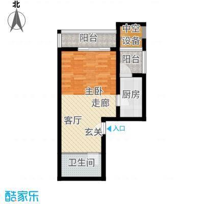 凤凰台40.26㎡面积4026m户型