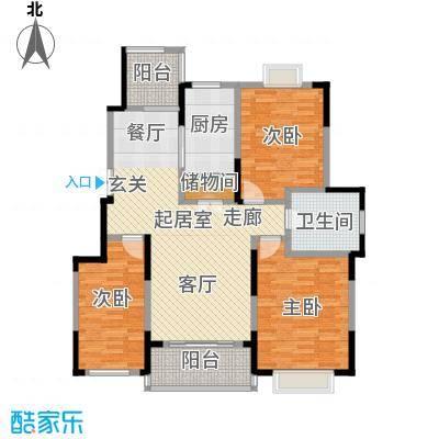 爱涛天逸园112.84㎡二期D1户型
