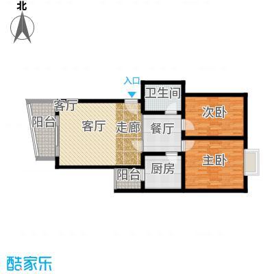 瑞丰花苑91.78㎡面积9178m户型