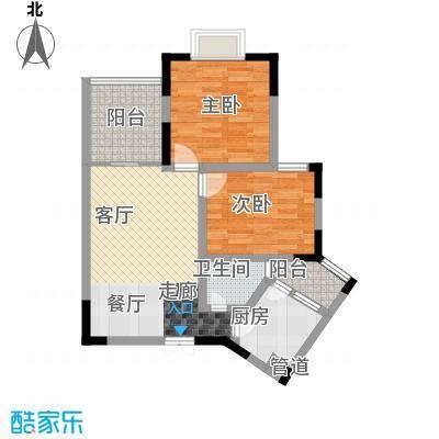 御景豪庭68.87㎡4面积6887m户型