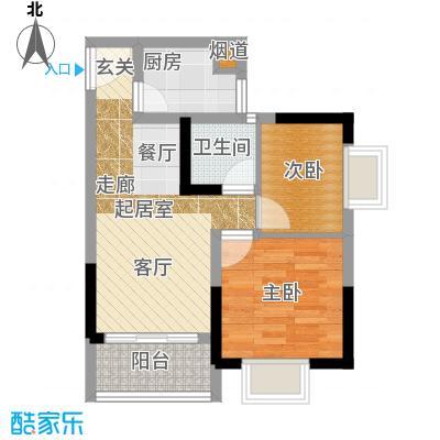 城市印象41.21㎡一单元12室面积4121m户型