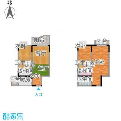 雅豪丽景138.88㎡3面积13888m户型