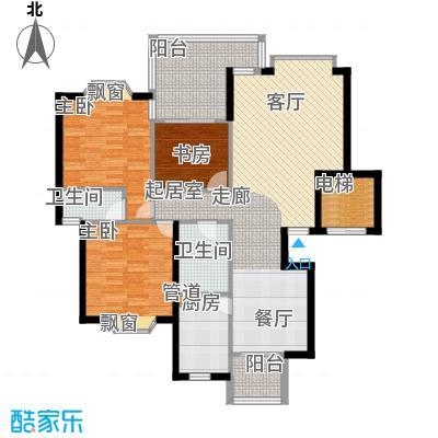 祥和御馨园118.31㎡C3(祥瑞居)3面积11831m户型