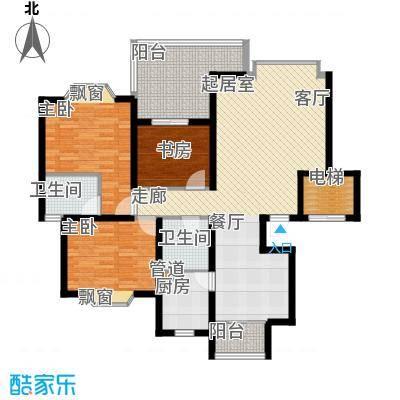 祥和御馨园112.17㎡C3型2面积11217m户型