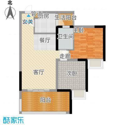林正橙堡71.16㎡2号楼6号房已售面积7116m户型