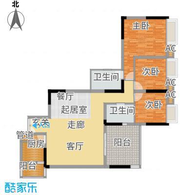 佳禾钰茂香港城105.94㎡3面积10594m户型