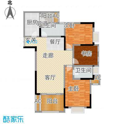 阿特豪斯98.01㎡三期8号楼2号房面积9801m户型