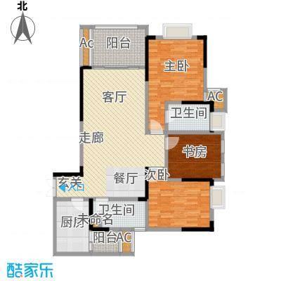 阿特豪斯98.01㎡三期8号楼3号房面积9801m户型