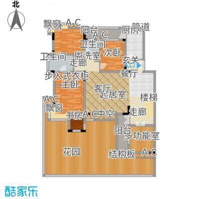 金科天籁城美社B-12户型