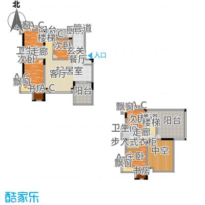 金科天籁城美社B-32户型