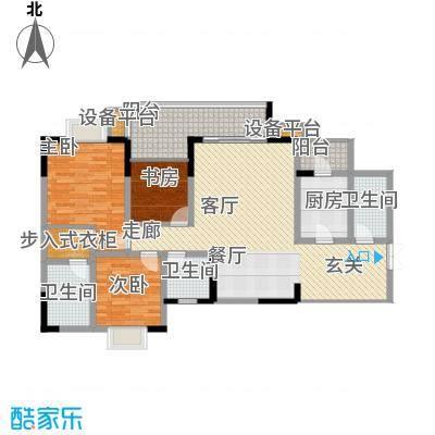 光华风和日丽105.82㎡三号楼2、5面积10582m户型