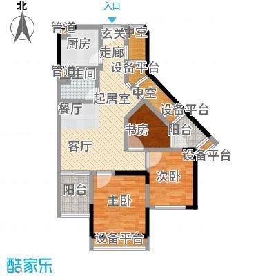 重庆国际家纺城66.00㎡面积6600m户型