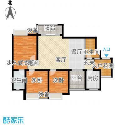 龙湖悠山庭院96.00㎡C1-13面积9600m户型