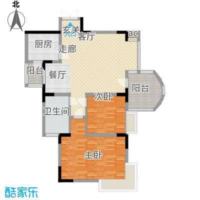 昌龙城市花园101.50㎡面积10150m户型