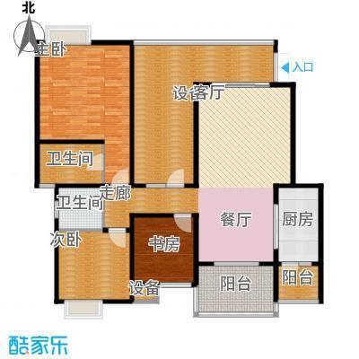 龙湖悠山庭院121.00㎡C5-23面积12100m户型