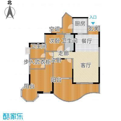 龙湖悠山庭院139.00㎡面积13900m户型