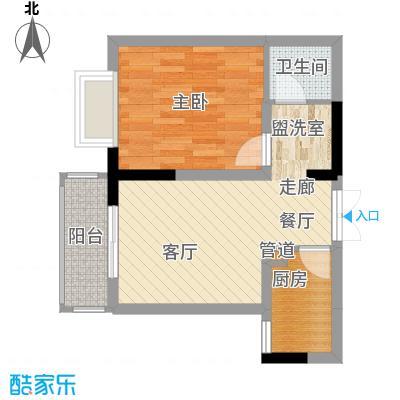 旭庆江湾国际花都41.76㎡C-1面积4176m户型