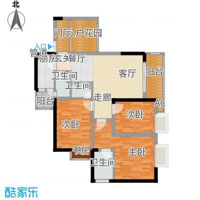 旭庆江湾国际花都87.12㎡C-7面积8712m户型