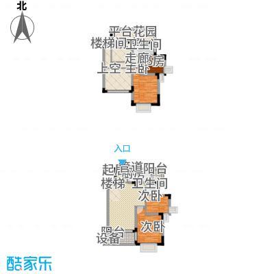中兴渝景苑122.72㎡F16面积12272m户型