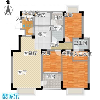 中兴渝景苑113.70㎡C5面积11370m户型