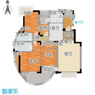 中兴渝景苑113.79㎡C3面积11379m户型