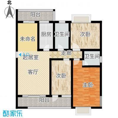 昌福盛景郦城120.24㎡四号楼N面积12024m户型