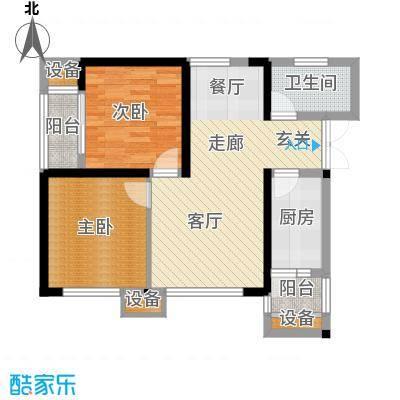 金阳牛津街小区57.72㎡1-3栋-01面积5772m户型