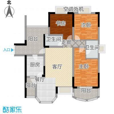 长安麒麟公馆102.27㎡3号楼2号房面积10227m户型