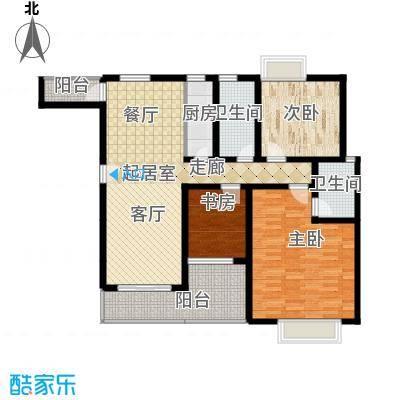 昌福盛景郦城114.30㎡三号楼L面积11430m户型