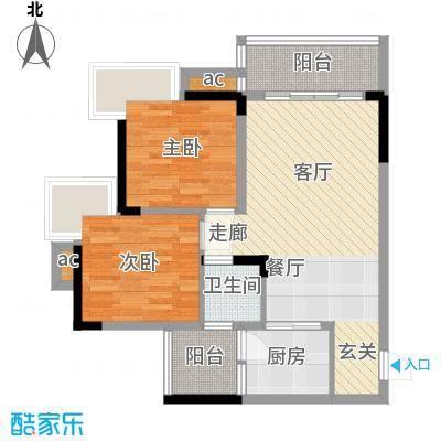 达飞玖隆城42户型