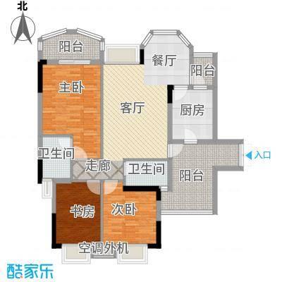 长安麒麟公馆97.92㎡5号楼4号房面积9792m户型