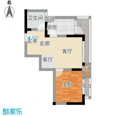 金阳牛津街小区37.86㎡4栋-071面积3786m户型