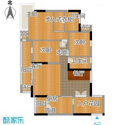 富力现代广场103.36㎡C2面积10336m户型