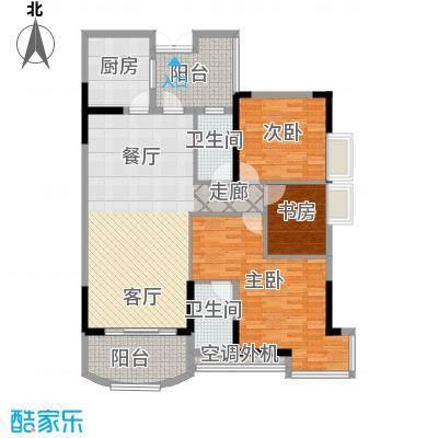 长安麒麟公馆105.30㎡3号楼3号房面积10530m户型