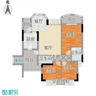 长安麒麟公馆98.47㎡5号楼2号房面积9847m户型