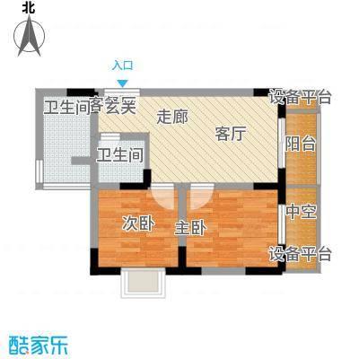 渝洲新城49.46㎡C面积4946m户型