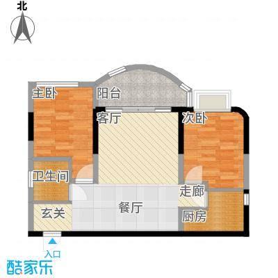 聚丰锦绣盛世67.93㎡6面积6793m户型