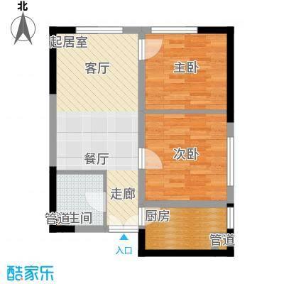 祈年悦城54.06㎡一号楼2-3/8号房面积5406m户型